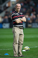 Conor O'Shea, Harlequins Director of Rugby, before the Aviva Premiership match between Harlequins and Saracens at the Twickenham Stoop on Sunday 30th September 2012 (Photo by Rob Munro)