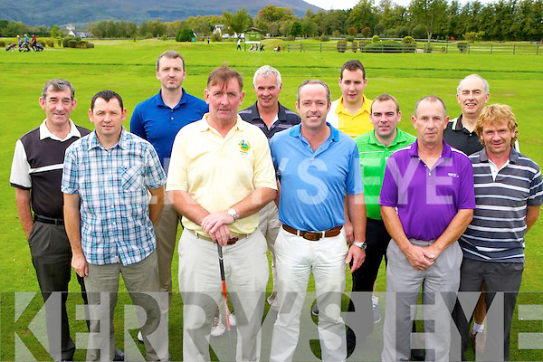 Ross Golf club President Ambrose O'Donovan held his Presidents prize on Saturday l-r: Conor Mahony, Mike Courtney, Tomás O'Regan, Ambrose O'Donovan, Tadhg Moynihan, Aidan O'Connor Captain, Donnagh Moynihan, Billy Kelly, John Cuskelly, Terence Mulcahy, and Tadhg Kelly