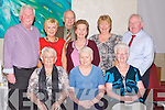 BALLINORIG SOCIAL: Enjoying the fun at the Ballinorig close and estate annual get together at the Manor West hotel, Tralee on Friday seated l-r: Tina Wall, Peggy Hegarty and Kitty Enright. Back l-r: Ger Fenix, Ann Sheehan, Michael McDonagh, Phill McDonagh, Eileen Tobin and Pat Tobin.