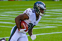 Philadelphia Eagles running back Corey Clement (30) during a preseason football game against the Green Bay Packers on August 10, 2017 at Lambeau Field in Green Bay, Wisconsin. Green Bay defeated Philadelphia 24-9.  (Brad Krause/Krause Sports Photography)