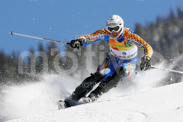 Ski Alpin; Saison 2006/2007  Slalom Herren Sieger Andre Myhrer (SWE)