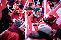 Swiss fans <br /> <br /> Men's U23 race<br /> UCI 2020 Cyclocross World Championships<br /> Dübendorf / Switzerland<br /> <br /> ©kramon