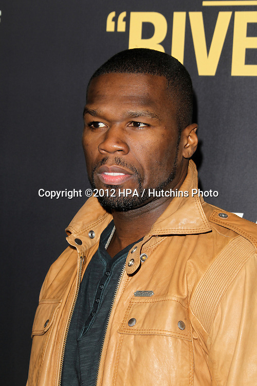 """LOS ANGELES - SEP 17:  50 Cent, Curtis James Jackson arrives at the """"End Of Watch"""" Premiere at Regal Cinemas L.A. Live on September 17, 2012 in Los Angeles, CA"""