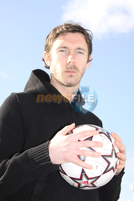 George O'Callaghan footballer with Dundalk United..Photo: Fran Caffrey/www.newsfile.ie...