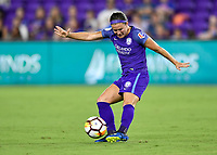 Orlando, FL - Saturday July 07, 2018: Christine Nairn during the second half of a regular season National Women's Soccer League (NWSL) match between the Orlando Pride and the Washington Spirit at Orlando City Stadium. Orlando defeated Washington 2-1.