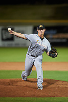 Mesa Solar Sox pitcher Austin Brice (41) delivers a pitch during an Arizona Fall League game against the Scottsdale Scorpions on October 20, 2015 at Scottsdale Stadium in Scottsdale, Arizona.  Mesa defeated Scottsdale 5-4.  (Mike Janes/Four Seam Images)