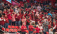NWA Democrat-Gazette/BEN GOFF @NWABENGOFF<br /> Arkansas vs Butler Friday, March 16, 2018, in the first round of the NCAA Tournament at Little Caesars Arena in Detroit.