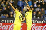 Villarreal CF's Jaume Costa (l) and Victor Ruiz during La Liga match. December 3,2016. (ALTERPHOTOS/Acero)