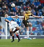 Lee McCulloch clears from defence