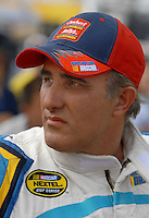 May 4, 2007; Richmond, VA, USA; Nascar Busch Series driver Derrike Cope (28) during qualifying for the Circuit City 250 at Richmond International Raceway. Mandatory Credit: Mark J. Rebilas