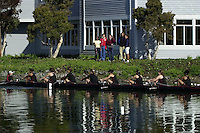 REDWOOD SHORES, CA - APRIL 21:  The Stanford Cardinal team during the Stanford Invitational on April 21, 2001 in Redwood Shores, California.
