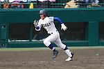 Takahiro Nishimura (Riseisha),<br /> APRIL 2, 2014 - Baseball :<br /> 86th National High School Baseball Invitational Tournament final game between Ryukoku-Dai Heian 6-2 Riseisha at Koshien Stadium in Hyogo, Japan. (Photo by Katsuro Okazawa/AFLO)8