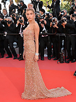 Hailey Baldwin at the gala screening for &quot;Girls of the Sun&quot; at the 71st Festival de Cannes, Cannes, France 12 May 2018<br /> Picture: Paul Smith/Featureflash/SilverHub 0208 004 5359 sales@silverhubmedia.com