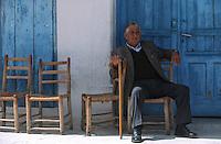 Europe/Chypre/Omodos: Scène de rue