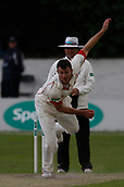 June 11th 2017, Trafalgar Road Ground, Southport, England; Specsavers County Championship Division One; Day Three; Lancashire versus Middlesex; Ryan McLaren of Lancashire bowls during the final session
