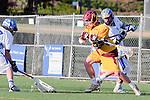 Rancho Santa Margarita, CA 04/30/10 - John Wilson (Torrey Pines #5) in action during the Rancho Santa Margarita CHS-Torrey Pines boys varsity lacrosse game.