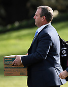 Bobby Peede, Deputy Assistant to the President and Director of Presidential Advance, carries a box as he prepares to accompany United States President Donald J. Trump as he departs the White House in Washington, DC on Friday, March 23, 2018. <br /> Credit: Ron Sachs / CNP