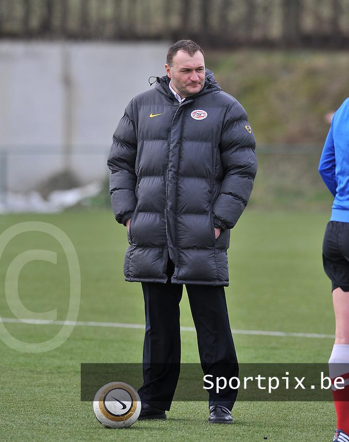 RSC Anderlecht Dames - PSV / FC Eindhoven : Nebojsa Vuckovic.foto David Catry / Vrouwenteam.be