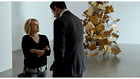 The Square (2017) <br /> Elisabeth Moss and Claes Bang<br /> *Filmstill - Editorial Use Only*<br /> CAP/KFS<br /> Image supplied by Capital Pictures