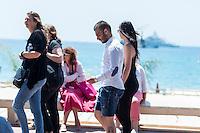69th Cannes Film Festival Footballeur Alexi Bossetti Ambiance Croisette baoli plage May 16 2016