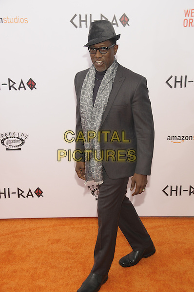 NEW YORK, NY - DECEMBER 1: Wesley Snipes arrives at 'CHI-RAQ: A Spike Lee Joint' Movie premier at  Ziegfeld Theatre on December 1, 2015 in New York, New York. <br /> CAP/MPI/RH<br /> &copy;RH/MPI/Capital Pictures