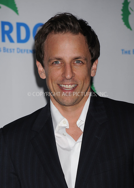 WWW.ACEPIXS.COM . . . . . ....March 30 2009, New York City....Seth Meyers at the Natural Resources Defense Council's 11th Annual `Forces For Nature' Benefit at 583 Park Avenue on March 30, 2009 in New York City.....Please byline: KRISTIN CALLAHAN - ACEPIXS.COM.. . . . . . ..Ace Pictures, Inc:  ..tel: (212) 243 8787 or (646) 769 0430..e-mail: info@acepixs.com..web: http://www.acepixs.com