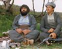 Iraq 1989 .In Chiler, on the border of Iran, left, Hama Haji Mahmoud .Irak 1989 .A Chiler, sur la frontiere avec l'Iran, Hama Haji Mahmoud