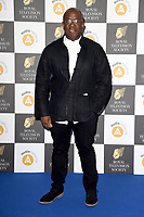 LONDON, UK. March 19, 2019: Lucian Msamati arriving for the Royal Television Society Awards 2019 at the Grosvenor House Hotel, London.<br /> Picture: Steve Vas/Featureflash