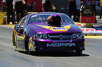 Apr. 1, 2011; Las Vegas, NV, USA: NHRA pro stock driver Vincent Nobile during qualifying for the Summitracing.com Nationals at The Strip in Las Vegas. Mandatory Credit: Mark J. Rebilas-