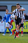 Scott Brown of Grimsby Town during the Vanamara Conference Play Off Semi Final First Leg match between Eastleigh and Grimsby Town at The Silverlake Stadium, Eastleigh<br /> Picture by David Horn/eXtreme aperture photography +44 7545 970036<br /> 30/04/2015