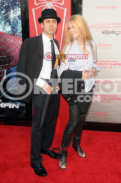Keya Morgan, Joan C.Lee at the premiere of Columbia Pictures' 'The Amazing Spider-Man' at the Regency Village Theatre on June 28, 2012 in Westwood, California. &copy; mpi35/MediaPunch Inc. /*NORTEPHOTO.COM*<br /> **SOLO*VENTA*EN*MEXICO** **CREDITO*OBLIGATORIO** *No*Venta*A*Terceros*<br /> *No*Sale*So*third* ***No*Se*Permite*Hacer Archivo***No*Sale*So*third*&Acirc;&copy;Imagenes*con derechos*de*autor&Acirc;&copy;todos*reservados*.