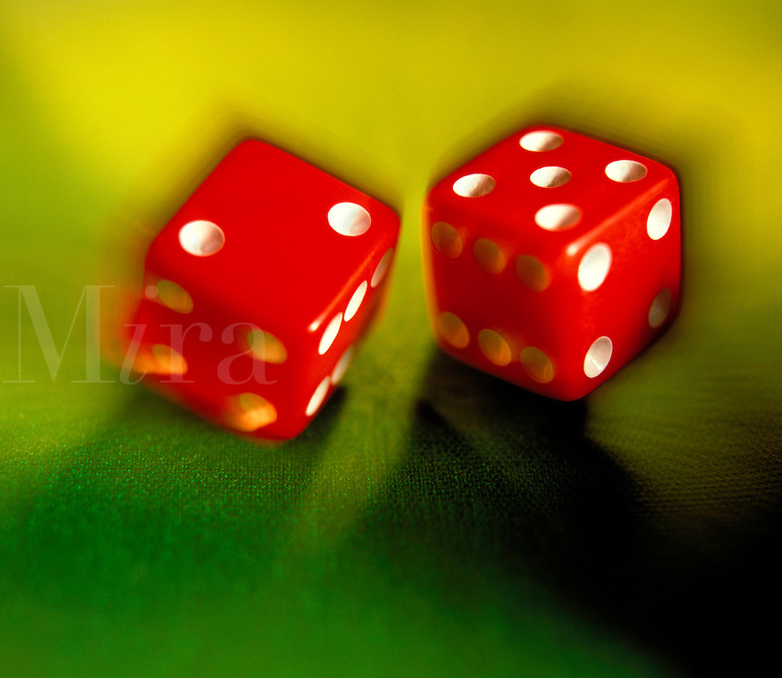 Rolling dice. United States.