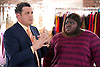 Gabourey Sidibe as Andrea and Isaac Mizrahi in The Big C (Season 4, Episode 2) - Photo: David M. Russell/SHOWTIME - Photo ID: TheBigC_402_0263