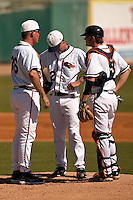 SAN ANTONIO, TX - FEBRUARY 25, 2008: The  Texas Tech University Red Raiders vs. The University of Texas at San Antonio Roadrunners Baseball at Nelson Wolff Stadium. (Photo by Jeff Huehn)