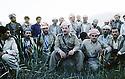 Iran 1985.Massoud Barzani and his peshmergas.Iran 1985.Massud Barzani and his peshmergas