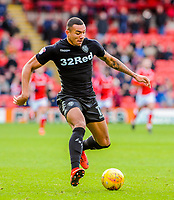 Leeds United's forward Jay-Roy Grot (11) during the Sky Bet Championship match between Barnsley and Leeds United at Oakwell, Barnsley, England on 25 November 2017. Photo by Stephen Buckley / PRiME Media Images.