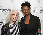 Jamie deRoy and Sharon Washington attends the Opening Night Performance of 'The Beast In The Jungle' at The Vineyard Theatre on May 23, 2018 in New York City.