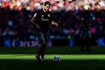 Inigo Martínez Berridi of Athletic Club de Bilbao in action during the La Liga 2017-18 match between Atletico de Madrid and Athletic de Bilbao at Wanda Metropolitano  on February 18 2018 in Madrid, Spain. Photo by Diego Souto / Power Sport Images