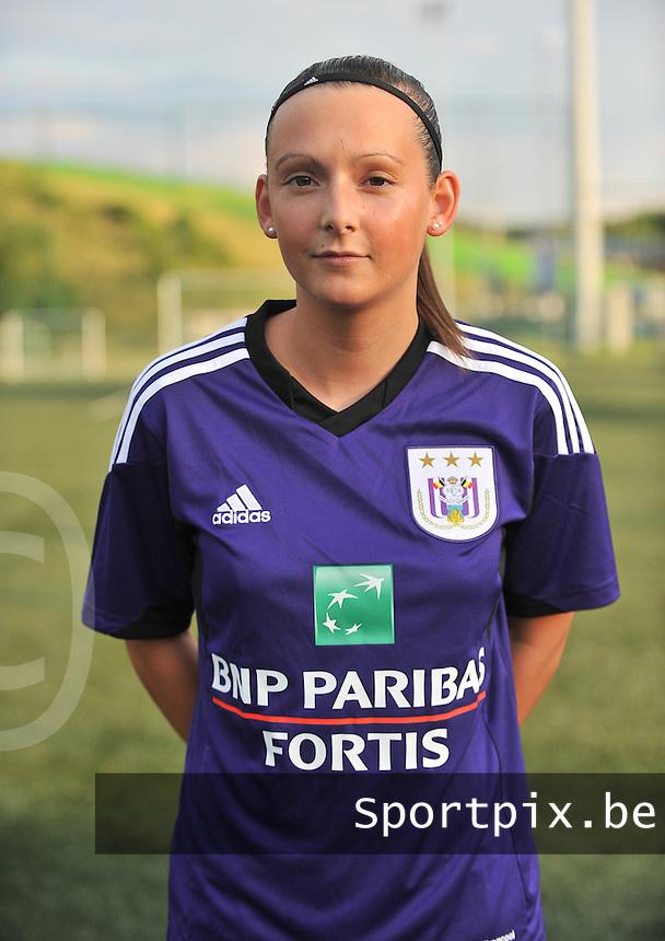RSC Anderlecht Dames : Anke Van Hooren<br /> foto David Catry / nikonpro.be