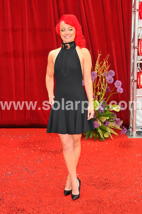 **ALL ROUND PICTURES FROM SOLARPIX.COM**                                             **WORLDWIDE SYNDICATION RIGHTS**                                                                                  Caption: Stars arrive at British TV Soap awards 2011 in Manchester. EastEnders winning Best Soap for the fourth time in a row, but with Corrie sweeping the board and landing eight out of 15 categories. 14 May 2011                                                                             This pic: Charlie Clemmow                                                                                             JOB REF: 13345 MSR       DATE: 14_05_2011                                                           **MUST CREDIT SOLARPIX.COM OR DOUBLE FEE WILL BE CHARGED**                                                                      **MUST AGREE FEE BEFORE ONLINE USAGE**                               **CALL US ON: +34 952 811 768 or LOW RATE FROM UK 0844 617 7637**