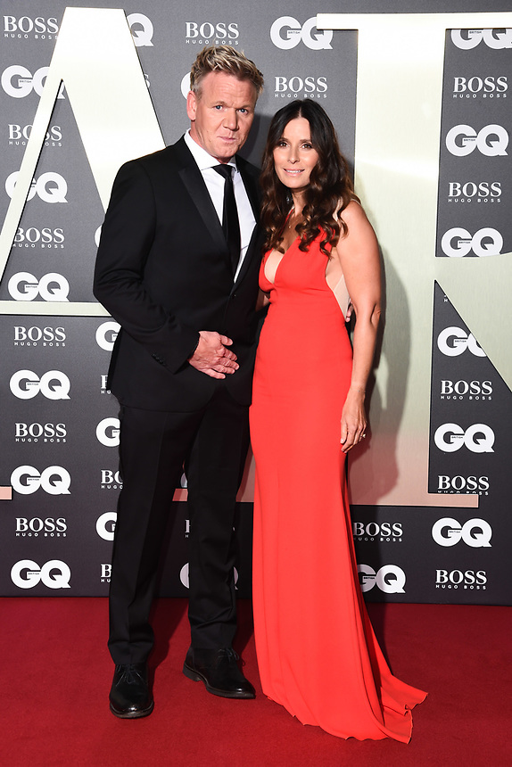 Gordon and Tana Ramsey<br /> arriving for the GQ Men of the Year Awards 2019 in association with Hugo Boss at the Tate Modern, London<br /> <br /> ©Ash Knotek  D3518 03/09/2019