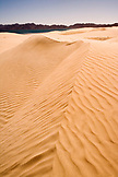 MEXICO, Baja, Magdalena Bay, Pacific Ocean, a landscape view of the dunes near Magdalena Bay