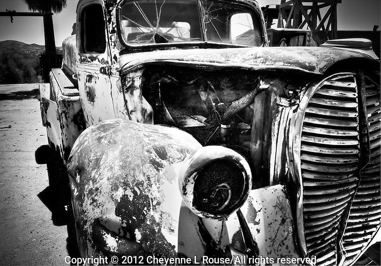 1939 Ford Tanker Truck - Arizona (BW)