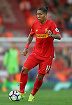 Roberto Firmino of Liverpool during the Premier League match at Anfield Stadium, Liverpool. Picture date: September 10th, 2016. Pic Simon Bellis/Sportimage