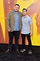 Ramon Guzman und Anthony Nguyen bei der Weltpremiere des Kinofilms 'Godzilla: King of the Monsters / Godzilla II - King of the Monsters' im TCL Chinese Theatre. Los Angeles, 18.05.2019