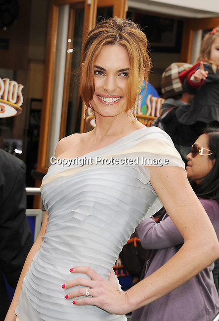 "Universal City, CA - March 27: Lisa Linde arrives at the Los Angeles premiere of ""Hop"" at Universal Studios Hollywood on March 27, 2011 in Universal City, California."