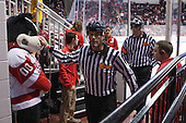 Chris Millea, Tim Low - The Boston University Terriers defeated the visiting University of Connecticut Huskies 4-2 (EN) on Saturday, October 24, 2015, at Agganis Arena in Boston, Massachusetts.