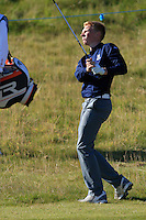 Keith Bowman (AM) on the 10th fairway during Round 1 of the 2015 Alfred Dunhill Links Championship at Kingsbarns in Scotland on 1/10/15.<br /> Picture: Thos Caffrey | Golffile