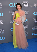 Mary Elizabeth Winstead at the 23rd Annual Critics' Choice Awards at Barker Hangar, Santa Monica, USA 11 Jan. 2018<br /> Picture: Paul Smith/Featureflash/SilverHub 0208 004 5359 sales@silverhubmedia.com
