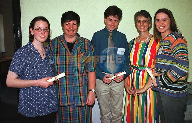 Lto R) Sheena Duffy, Dr. Carlos McDowell, David Murphy, Julie Byrne and Lisa McCarthy..Pic Fran CAffrey / Newsfile